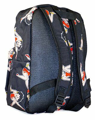 Betty Boop Backpack Collection, Legs - Black
