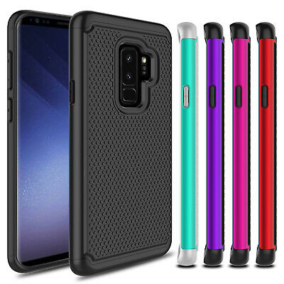 Hybrid Shockproof Armor Rubber Case Cover For Samsung Galaxy S8 S9+ Plus Note 9