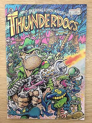 Thunderdogs Comic  1981  Rip Off Press Hunt Emerson Underground Comix