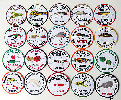 Ecusson peche collection vintage americain FLNCC fishing patch