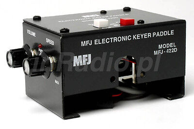 Mfj-422Dx Keyer For Bencher Paddle Mount + Fast Ups Delivery Mfj422 Mfj422Dx