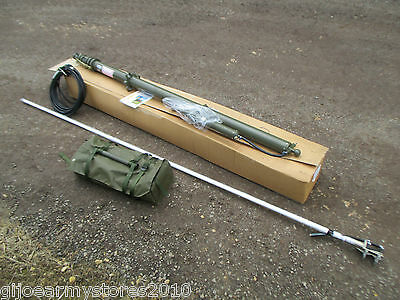 NEW Military Clark Mast 10 Meter SQTF 10 COMPLETE KIT! With Antenna Guy Kit MOD