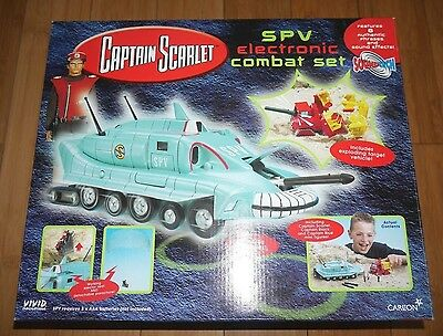 Captain Scarlet Spv Electronic Combat Set Gerry Anderson Rare Factory Sealed (6)