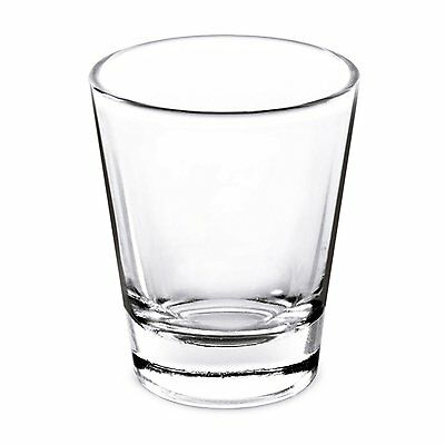 1.5 Oz Whiskey Shot Glass; Set of 4 Shot Glasses