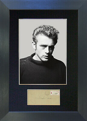 JAMES DEAN Signed Mounted Autograph Photo Reproduction Prints A4 615