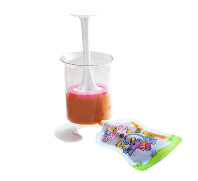 Fill n Squeeze Starter Pack Pouch Filler and Squeezee Pouches Weaning Traveling