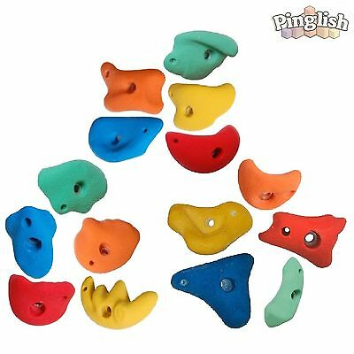 Climbing Stones x 15 80mm Medium Climbing Holds Holds