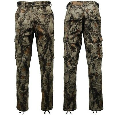 """Nat Gear Camouflage Waterproof Trousers Mens 30""""-42"""" Hunting Fishing Camo"""