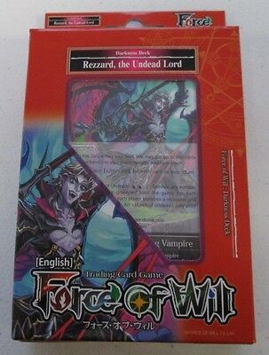 Force of Will Rezzard, The Undead Lord  Starter Deck