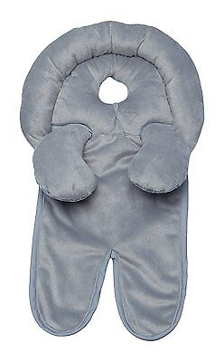 Boppy Infant to Toddler Head and Neck Support, Crash Tested, 2-in-1 Design, Gray