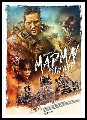 Mad Max Fury Road 8   Poster Greatest Movies Classic & Vintage Films