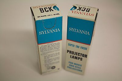 Lot of 2 BCK Projection lamps: 2 @ 120V, 500W BCK lamps for projector