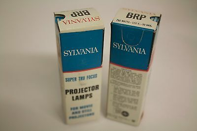 Lot of 2 BRP Projection lamps: 2 @ 120V, 750W BRP lamps for projector