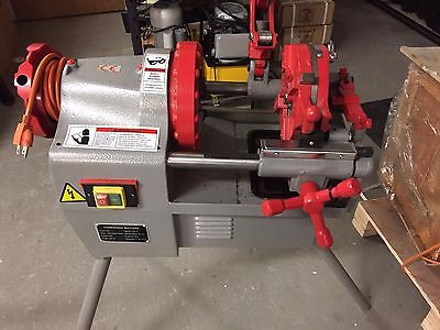 "USED Electric Pipe Threader Machine 1/2"" - 2"" Threading Cutter, Deburrer NPT P50"