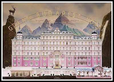 The Grand Budapest Hotel 4    Poster Greatest Movies Classic & Vintage Films