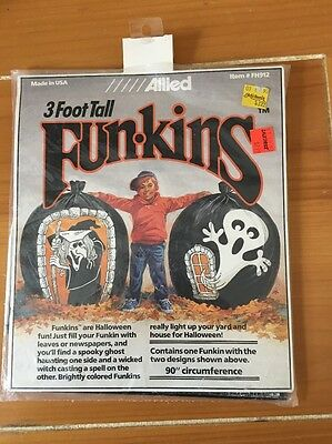 Allied CREEPY WITCH SCARY GHOST 3' Funkins  Halloween FH912 NEW SEALED