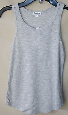 Splendid Grey Heather Tank Top Girl Size 7/8 Nwt