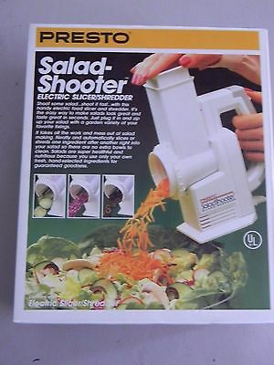 Presto Salad Shooter- New In the Box- 1988 - Vintage- Patent Pending