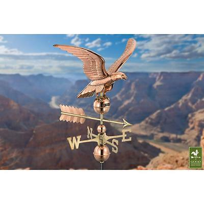 Good Direction Smithsonian Eagle Weathervane Pure Copper Weather Vane Roof Mount