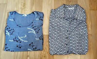WOMENS PLUS SIZE CLOTHING lot of 2 size 18-20 blouse 2xl top