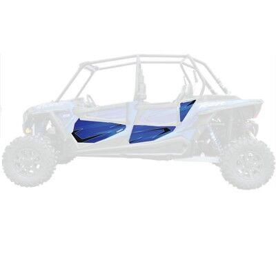 DragonFire Door Graphics Polaris RZR XP 4 1000 2014-2015 VooDoo Blue