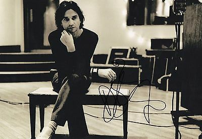 Authentic Dave Gahan Signed 12 X 8 .real Signature..depeche Mode...coa.
