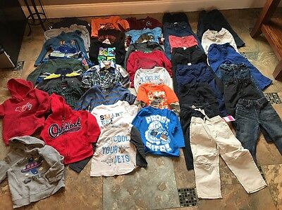 Huge Lot Of Boys Winter Clothes-size 3t