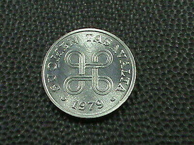 FINLAND    1  Penni    1979    BRILLIANT  UNCIRCULATED