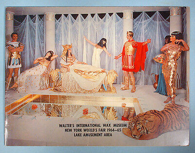 1964-1965 New York World's Fair Wax Museum Original Pictorial Souvenir Booklet