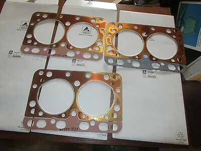 Oliver tractor minneapolis molineG-1350,G-1000 LP BRAND NEW (3) head gaskets NOS