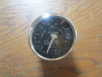 Oliver tractor  S-55,550,66,660,77,S-77 BRAND NEW tachometer
