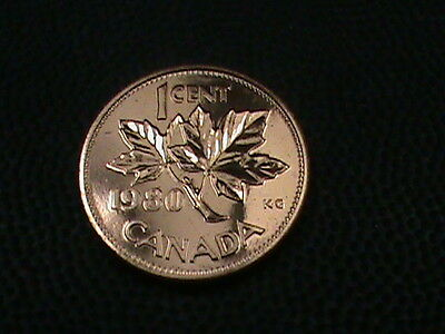 CANADA   1 cent   1980    PROOF