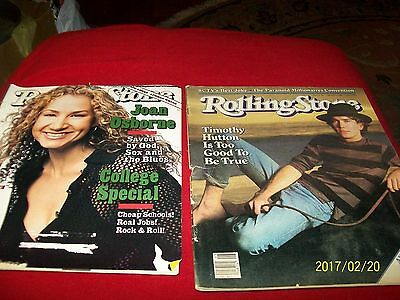 Lot Of 11 Vintage Rolling Sgtone  Magazines
