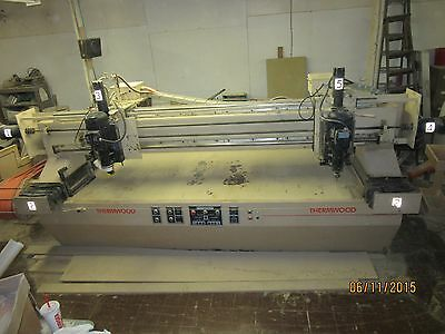 Thremwood Cartesian 5 Model C-5, CNC 5 Axis Router W/Bits