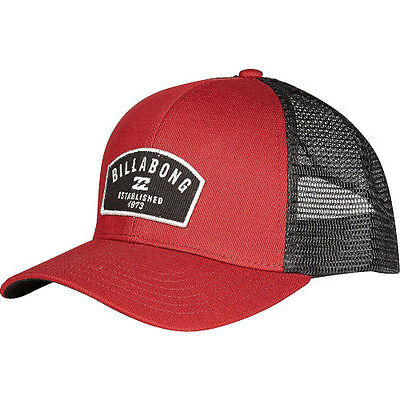 Billabong Wharf Trucker Mens Headwear Cap - Red Clay One Size