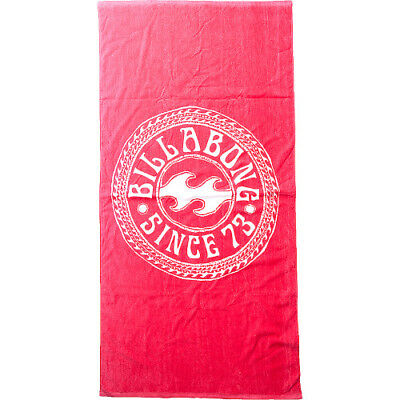 Billabong Must Be Womens Accessory Towel - Horizon Red One Size