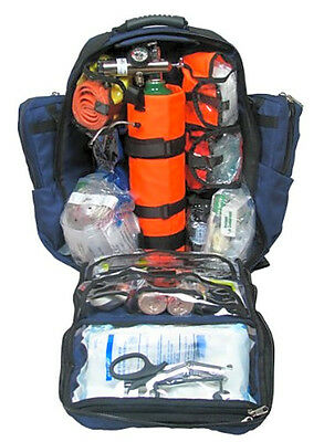 Dixie Ems Ultimate Pro Trauma O2 First Responder Medic Oxygen Backpack Denier Co