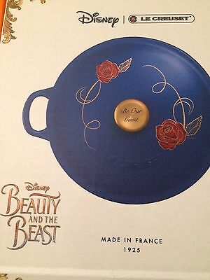 Disney Le Creuset - Beauty And The Beast LIMITED EDITION New HTF Rare Soup Pot