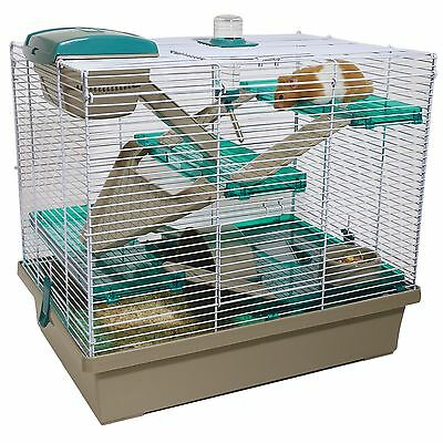 Rosewood Pico XL Translucent Teal - Hamster & Small Animal Home/Cage One Size