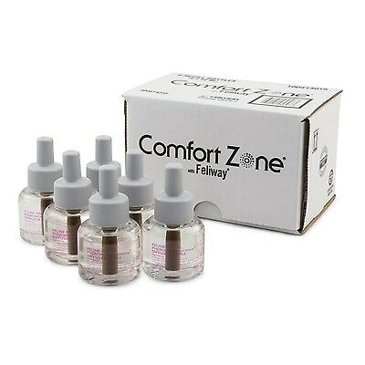 Farham 100514016 Comfort Zone with Feliway Refill 6 Pack
