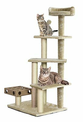 Furhaven Pet Products Tiger Tough Cat Furniture Play Stairs Playground Multi ...