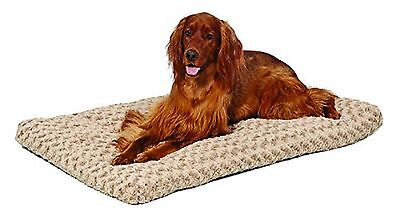 Midwest Quiet Time 40-By-27-Inch Ombre Swirl Deluxe Pet Bed Mocha 42-inch