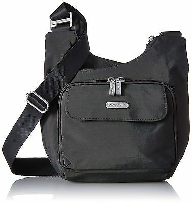 Baggallini Luggage Criss Cross Water Resistant Bag Charcoal One Size