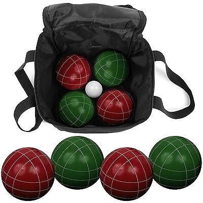 Trademark Games 80-10602 9-Piece Bocce Ball Set with Easy Carry Nylon Case