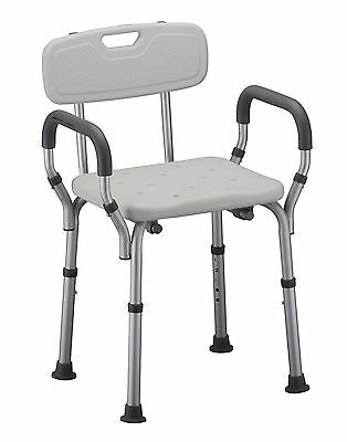NOVA Medical Products Quick Release Shower Chair with Back