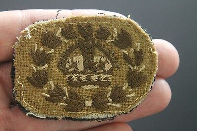 WW2 South African Army Warrant Officer rank insignia patch