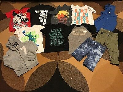 Lot Of Boys Summer Clothes- Size 7