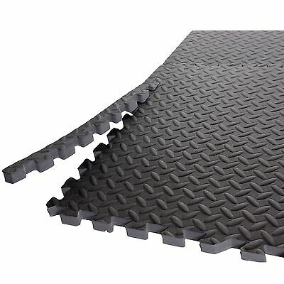 Cap Barbell MT-2206AZ Antimicrobial Treated Puzzle Mat 24-Square Feet