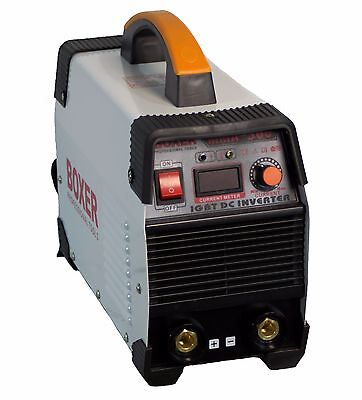 Big 300Amp, mass of welder 6kg,  BOXER  IGBT inverter MMA / ARC  / LED display