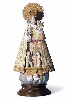 Lladro Large Spanish Madonna Angels Valencia 01001394  Holy Mary  Brand New